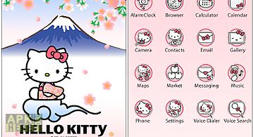 Hello kitty home launcher
