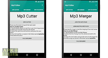 Mp3 editor,merger & cutter