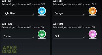 Wifi hotkey and widget