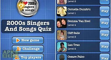 2000s singers and songs quiz fre..