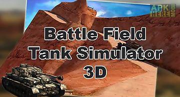Battlefield: tank simulator 3d
