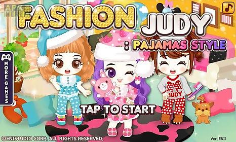 fashion judy: pajamas style
