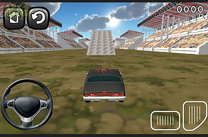 free retro stunt car parking