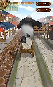 panda runner: jump and run far