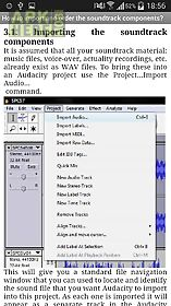 Free audacity tutorials for Android free download at Apk Here store