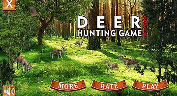Deer hunting game 2016