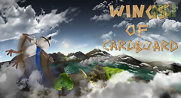 Wings of cardboard