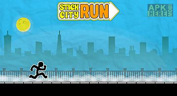 Stick city run: running game