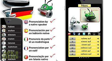 Free german verbs