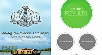 Kerala state lottery results