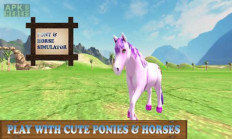pony horse simulator kids 3d