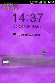 purple violet theme go locker