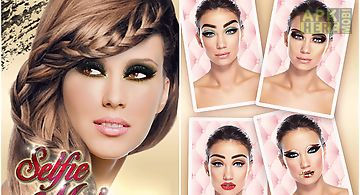 Selfie makeup beauty app