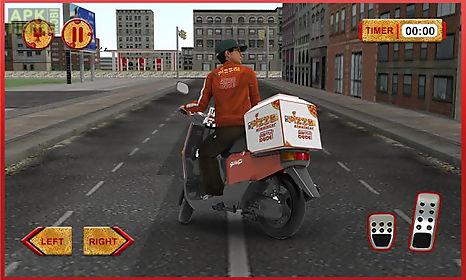 3d pizza boy rider simulator
