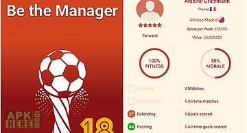 Be the manager 2018: football st..