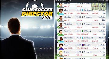 Club soccer director 2018: footb..
