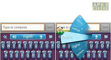 Go keyboard aries theme