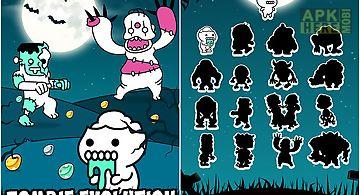 Zombie evolution: horror zombie ..