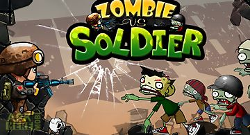 Zombies vs soldier hd