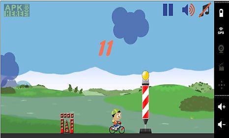 bike race jump