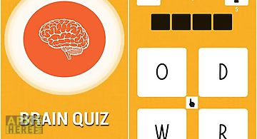 Brain quiz: just 1 word!