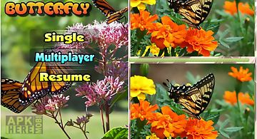 Eyespy butterfly difference game