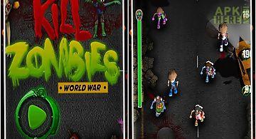 Kill zombie shooting game