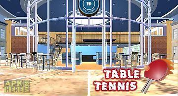 Ping pong tabel tennis 3d