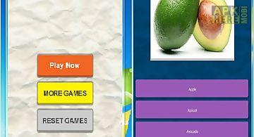 The best quiz game of fruit