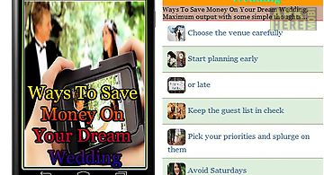 Ways to save money on your dream..