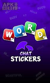 word sticker whatsapp