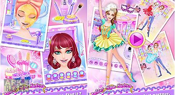 Ballet spa salon: girls games