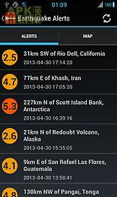 earthquake alerts tracker