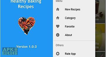 Healthy baking recipes