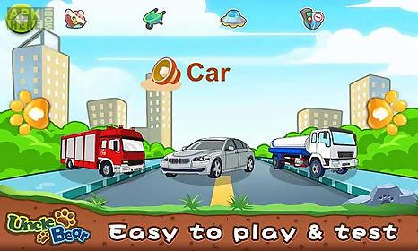 kids puzzle: vehicles