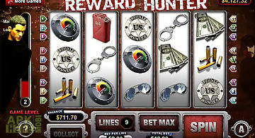 Reward hunter slot machine
