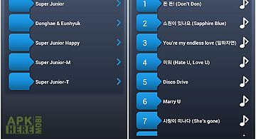 Super junior lyrics