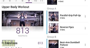 Fitocracy workout fitness log