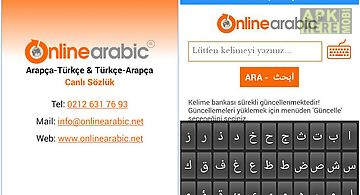 Free arabic turkish dictionary