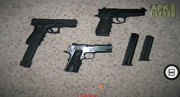 Guns shooting sound