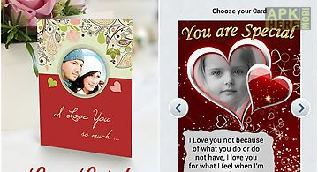 Love and valentine cards