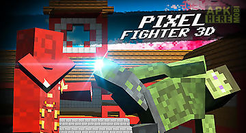 Cube pixel fighter 3d