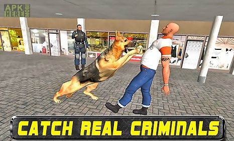 police dog ben crime chase