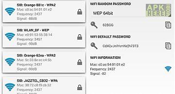 Wifi password master