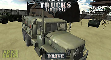 Army truck driver