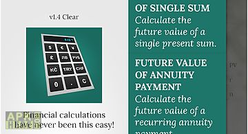 Calcfinance calculator pro