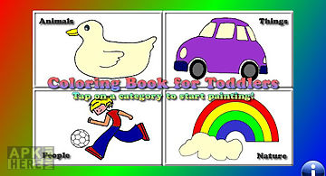 Coloring book for toddlers lt