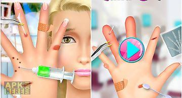 High school beauty: hand salon