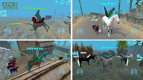 hill cliff horse - multiplayer