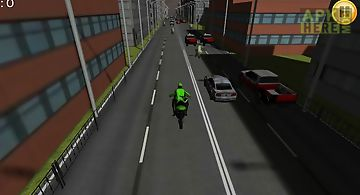 Motorcycle traffic racing 3d